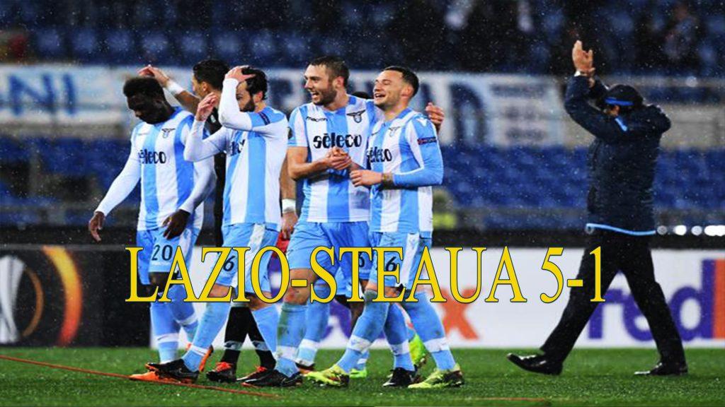 LAZIO STEAUA 3-1