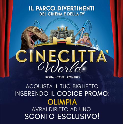 Biglietti Cinecitta World